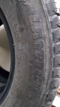 Michelin Latitude tour hp - 2 шт. 22565 R17 102H