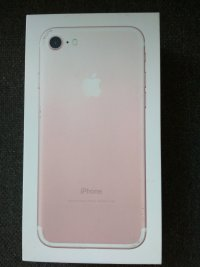 iphone 7 pink gold