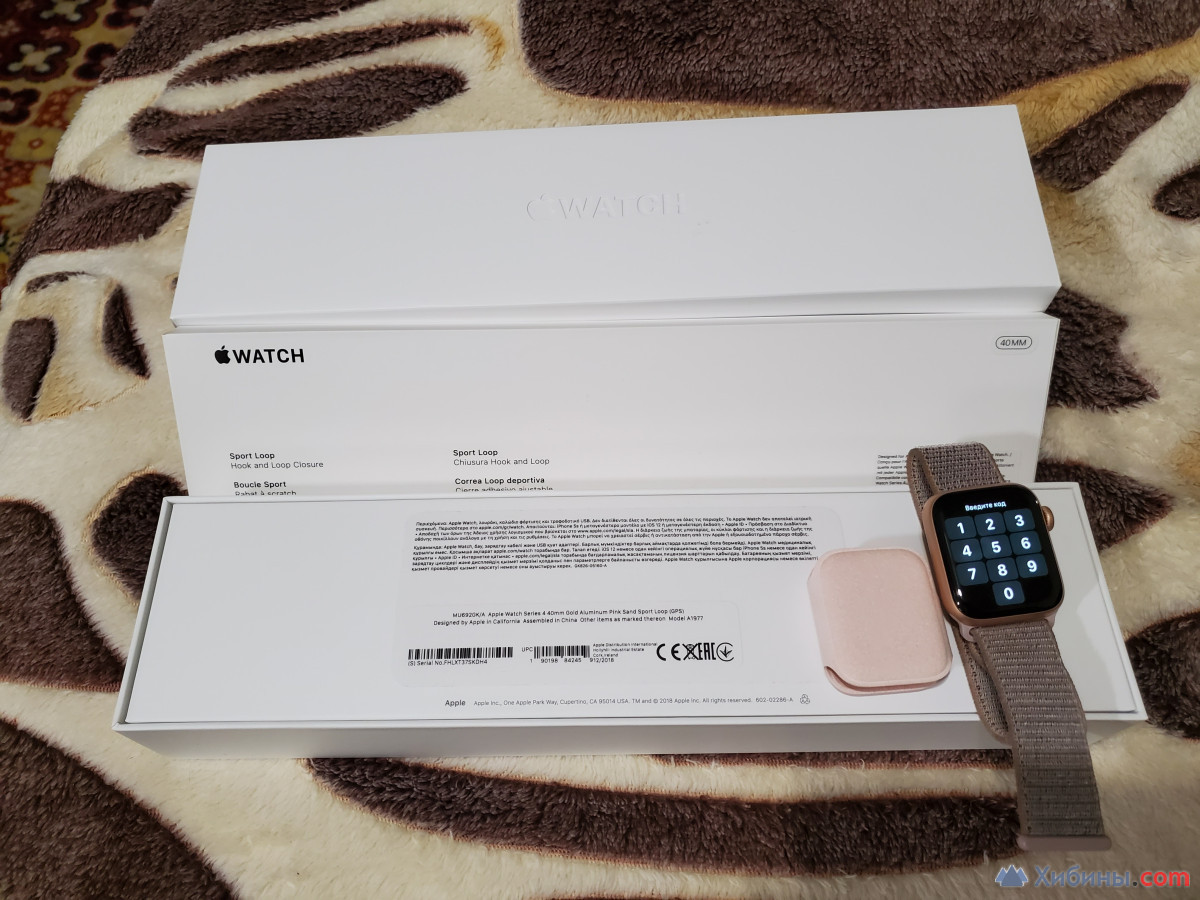 Apple Watch Series 4 40 mm Gold Aluminum Pink