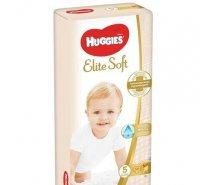 Подгузники Huggies Elite Soft 5 12-22кг 56шт